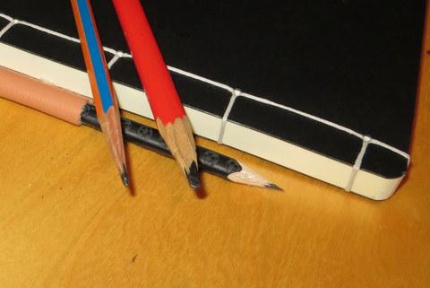 Eine Auswahl an Bleistiften